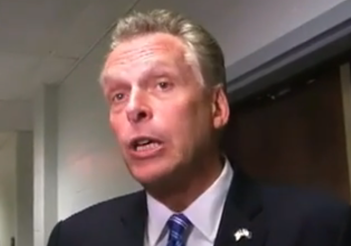 McAuliffe: 'Gun Violence Going Down' is 'Not the Issue'