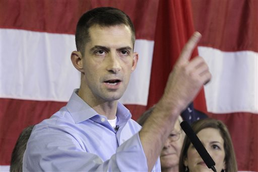 Tom Cotton Launches Senate Campaign: 'Great Chance to Win'