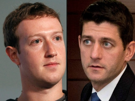 Zuckerberg Spends $350K Touting Immigration Reform in Paul Ryan's District