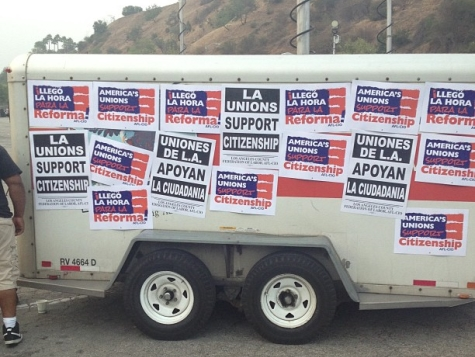 Immigration Rally Organizer: Dodgers 'Very Generous' to Let Us Use Parking Lot
