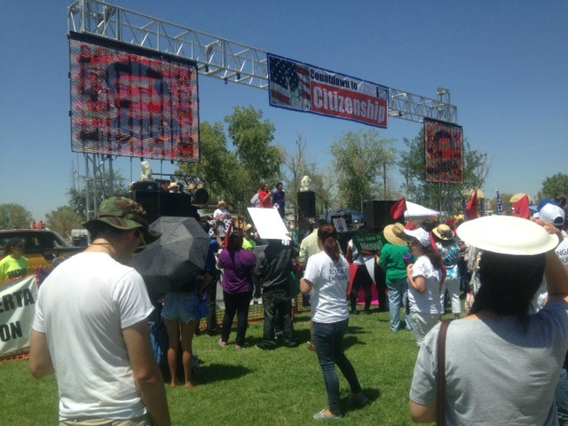 Arizona Republic Spins August Immigration Reform Rallies
