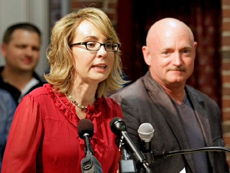 Gabby Giffords' Gun Control PAC Busted for Contributions Violating IRS Code