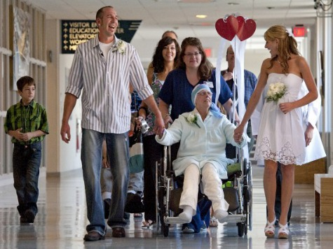 Hospital Throws Wedding so Cancer Patient Can See Son Get Married