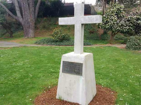 Veterans' Memorial Cross Bombed in Oregon
