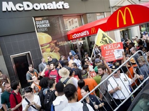 Fast-Food Workers Strike Across U.S.