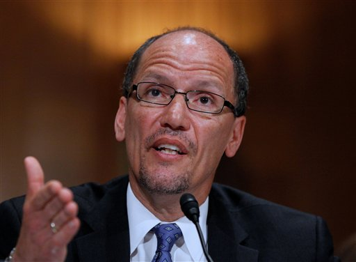 Labor Secretary: Fast Food Strikes Show Need for Wage Hike