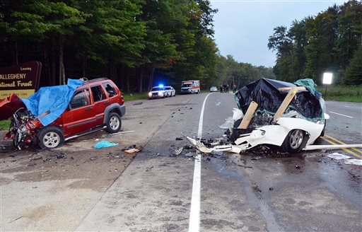 Crash on PA Highway Kills Six, Including Two Kids