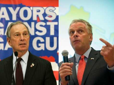 McAuliffe, Bloomberg Meet in New York to Discuss Virginia Governor's Race