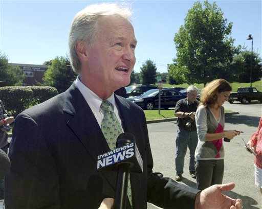 RI Gov. Lincoln Chafee Won't Run for Second Term