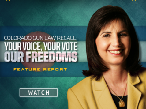 NRA Report on Colorado Recall: 'Your Voice, Your Vote, Our Freedoms'