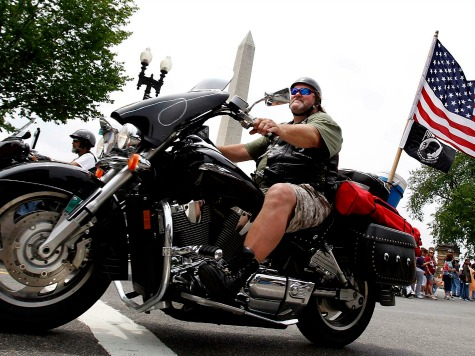 9/11 Bikers Ride Into D.C.