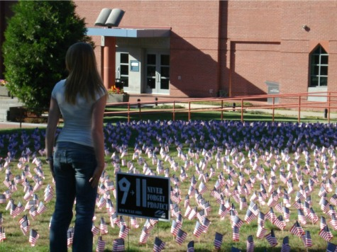 Student Protesters Rip 2,977 American Flags Out of Ground at 9/11 Memorial