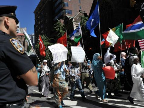 Radical Imagery at NY Muslim Day Parade