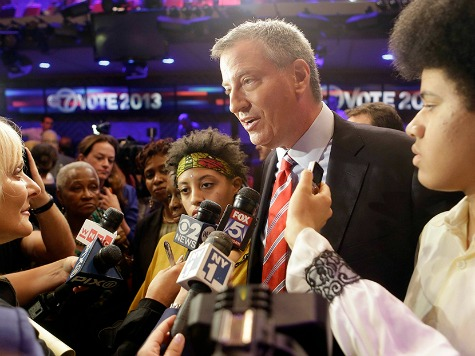 Marx and the City: Will the World's Financial Capital Survive de Blasio?