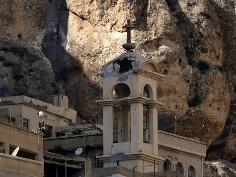 Al Qaida-Linked Rebels Desecrate Churches in Syria Town