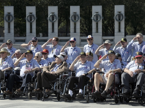 Remarks to WWII Vets on an 'Honor Flight': 'We Have Not Forgotten Your Sacrifice'