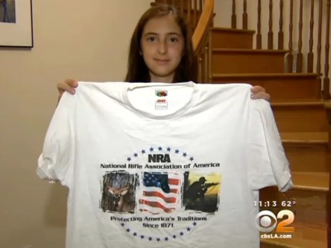Female Student Ordered to Change out of 'Offensive' NRA T-Shirt