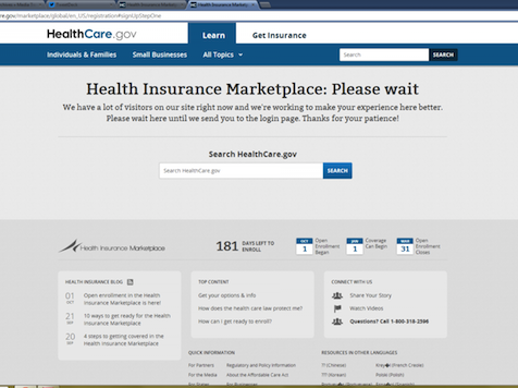 Obama Admin Hired Team to Fix Obamacare Website Before Bomb Went Off