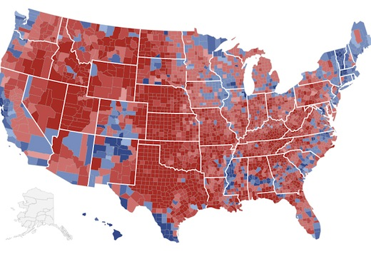 Study: Americans in All 50 States More Conservative Since 1964
