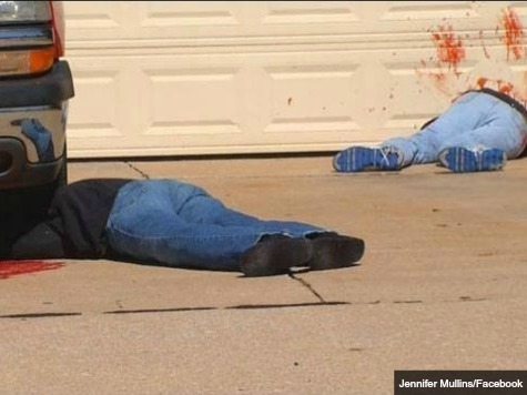Deadly Halloween Tableau Too Realistic for Some