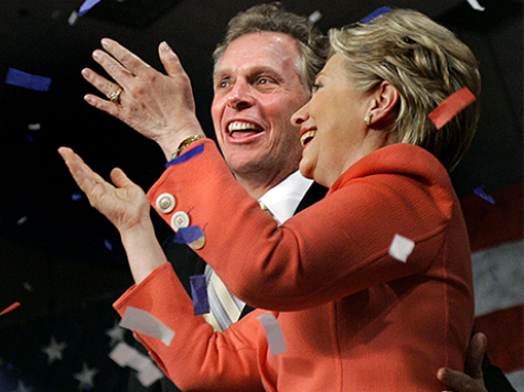 The Clintons Want McAuliffe to Ready Virginia for Hillary 2016