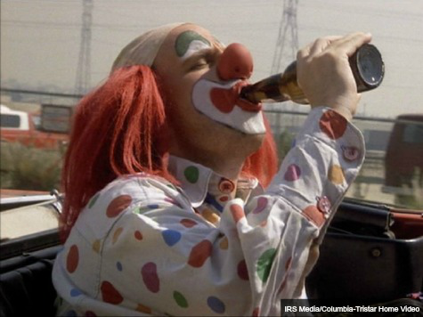 Drunk Clown Accused of Dangling Child from Overpass