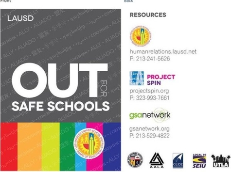 LAUSD Teachers to Wear Rainbow Badges on 'National Coming Out Day'