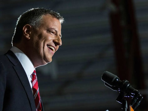 New York Post Blisters Campaigner-in-Chief Bill de Blasio