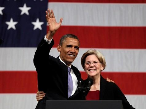 Elizabeth Warren Positioned to Challenge Hillary from the Left in 2016