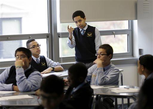 Network of all-boys NYC public schools growing