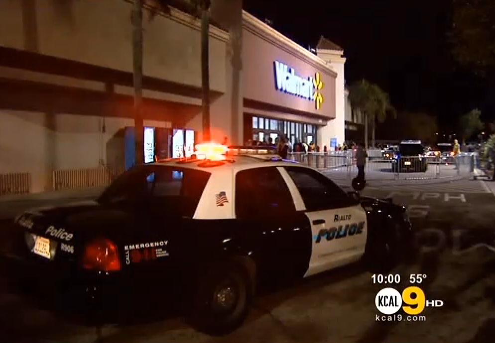 'Black Friday' Brawl: Officer Injured at California Wal-Mart on Thanksgiving