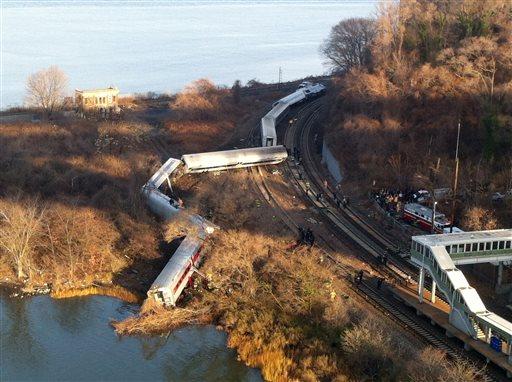 Governor: 4 dead, 63 Hurt in NYC Train Derailment