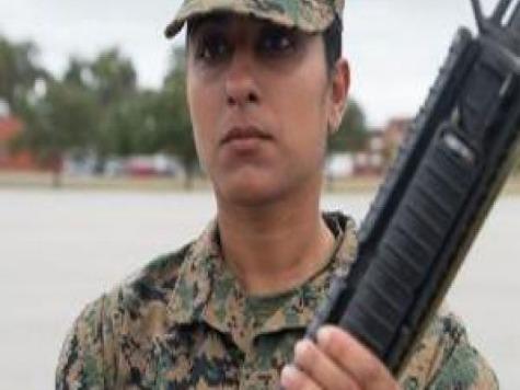 Female Iraqi Translator Joins U.S. Marines