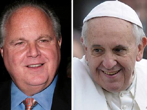 Leftist Catholics Launch Petition Demanding Limbaugh Apologize to Pope