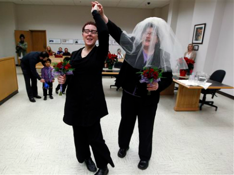 Same-Sex Weddings 17 Percent of Washington Marriages