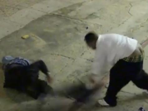 Video: Men Brutally Beat Homeless Man