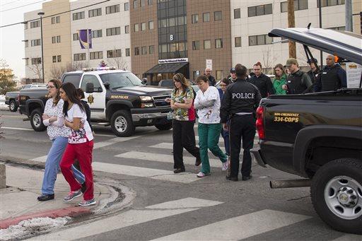 Gunman Kills Himself, One Other at Reno Hospital