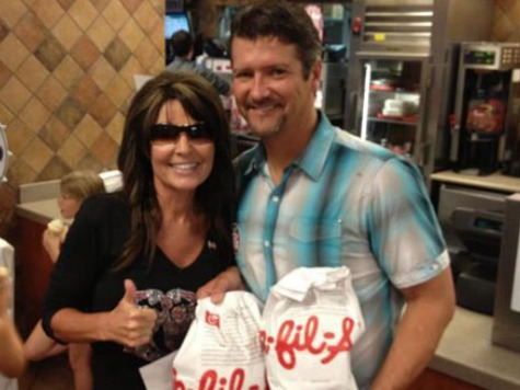 Palin: Nation Will Rally Around 'Americana' Duck Dynasty like Chick-fil-A