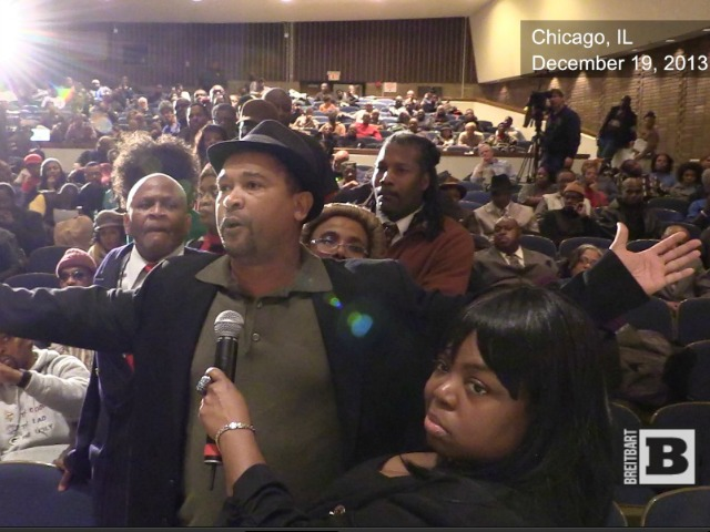 Al Sharpton's Chicago Town Hall Erupts into Revolt Against Machine Politics
