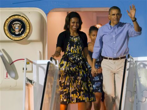 Obama Skips out of Washington for Hawaii Vacation
