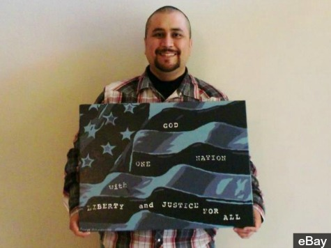 Winning Bid Tops $100,000 for Zimmerman Flag Art
