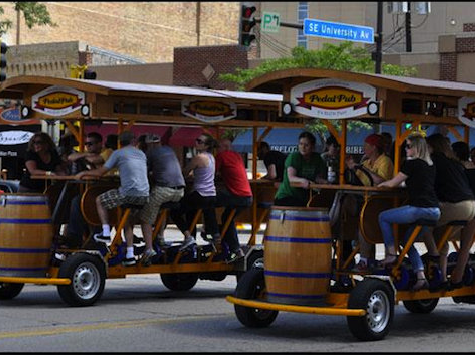 Wisconsin Ushers in 'Pedal Pub' Law for 2014