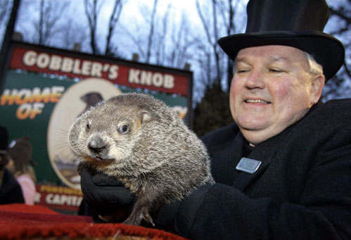 Punxsutawney Phil Is Fall Guy for Global Warming Folklore