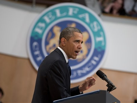 Media Ignore Obama's Catholic School Gaffe in Ireland