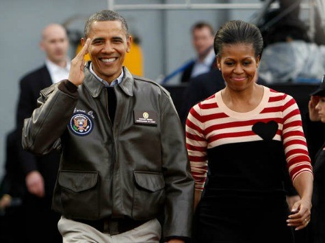 Obamas' Christmas Message Touts Administration's Foreign Policy