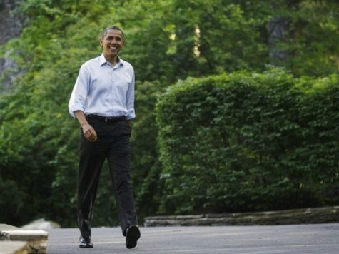 Claim: Obama 'Uncomfortable' at Touted Skeet Shoot