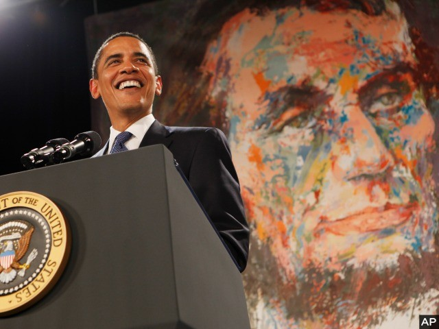 Obama Proclaims a Nearly 'Godless' Thanksgiving
