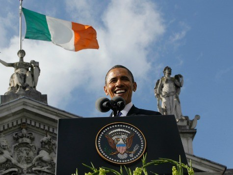 Obama to Give Speech in Belfast, Family to Head to Dublin