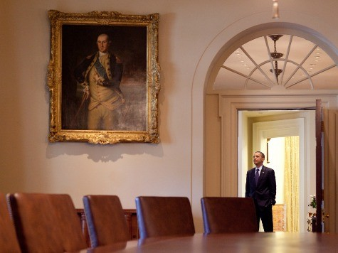 President Obama Spent Shutdown Day Three Sitting for Portrait?