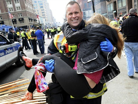 First Responders, Medical Personnel Save Lives in Boston 'War Zone'